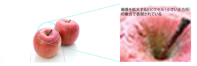 ビットマップ画像の種類と使い分け