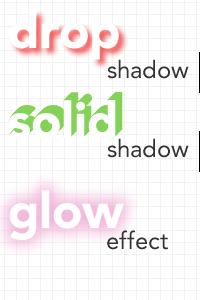画像内の文字を見せるデザイン表現 〜文字に効果を付ける(1)〜