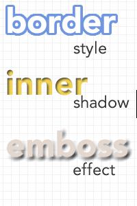 画像内の文字を見せるデザイン表現 〜文字に効果を付ける(2)〜
