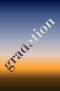 グラデーションを使ったデザイン表現方法