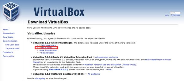 仮想環境のVartualBoxを使ってMacでIEブラウザチェック