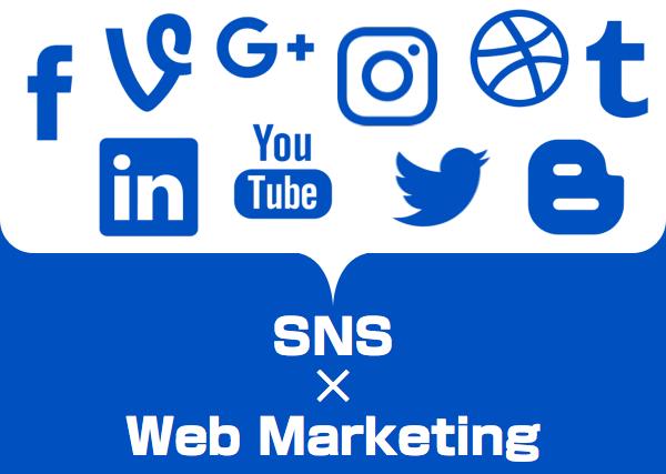 ウェブマーケティングでのSNS活用(1)〜SNSの位置付け〜