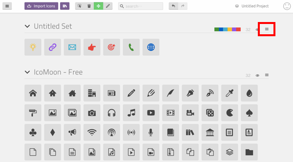 SVGからオリジナルのwebフォントアイコンを作成する
