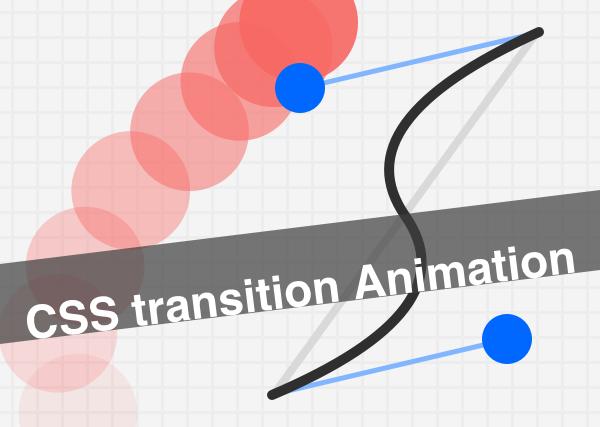 CSSのtransitionでいろんなバリエーションの動きを表現してみる