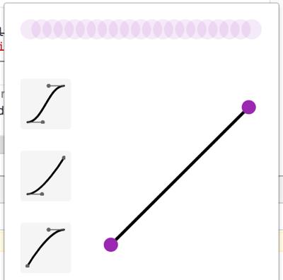 CSSのtransitionでいろんなバリエーションの動きを再現してみる