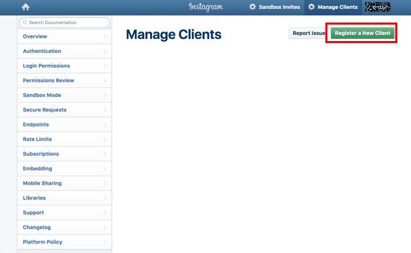 Instagram APIでインスタグラムのタイムラインをサイト内に実装する