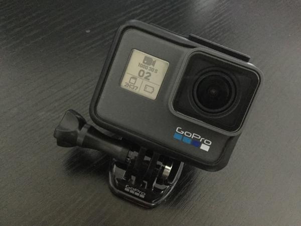 【レビュー】動画アクションカメラのGoPro Hero6 Blackを導入しました