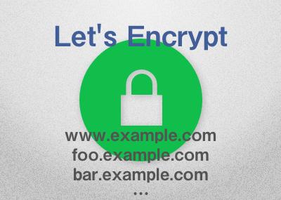 Let's EncryptのSSL証明書にサブドメインもSSL対応に追加する