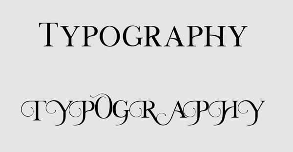 フォントのオルタネート(異体字)をデザインに活用する