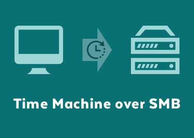 NASの共有フォルダにTime MachineでMacのバックアップデータを保存する