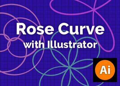 Illustratorでスクリプトを使って関数曲線のバラ曲線を描いてみる